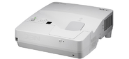 NEC projector UM351W LCD Ultra-short,  1280x800 WXGA,  3500lm,  6000:1,  D-Sub,  HDMI,  RCA,  RJ-45,  Lamp:6000hrs,  incl. Wall-mount