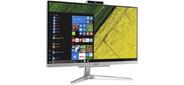 "Моноблок Acer Aspire C24-865 23.8"" Full HD i5 8250U  (1.6) 4Gb SSD128Gb UHDG 620 CR Windows 10 Home GbitEth WiFi BT 65W клавиатура мышь Cam серебристый 1920 x 1080"