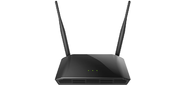 Маршрутизатор D-Link 802.11n  Wireless N300 Router with 1 10 / 100Base-TX WAN port,  4 10 / 100Base-TX LAN ports.