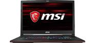 """MSI GL73 8SDK-098RU  (MS-17C7) Intel Core i7-8750H 2.20GHz Hexa / 16GB / 1TB+256GB SSD / GF GTX1660Ti 6G / 17.3"""" FHD (1920x1080) nonGLARE / HM370 / noDVD / WiFi / BT5.0 / 1.0MP / SDXC / 6cell / 2.70kg / W10 / 1Y / BLACK"""