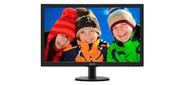 "Монитор Philips 27"" 273V5LHAB 00 / 01 черный TN+film LED 5ms 16:9 DVI HDMI M / M матовая 300cd 1920 x 1080 D-Sub FHD 4.53 кг"