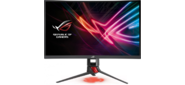 "ASUS 31.5"" ROG Strix XG32VQ VA LED изогнутый,  ProGaming,  2560x1440,  4ms,  300cd / m2,  3000:1,  178° / 178°,  HDMI,  DP,  miniDP,  USB,  144Hz,  Tilt,  Swivel,  Height Adj,  Aura light,  Dark Gray,  90LM03S0-B01170"