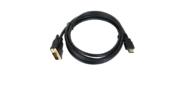 Кабель HDMI to DVI-D  (19M -25M) 2м,  TV-COM <LCG135E-2M>