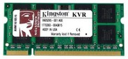 Kingston SODIMM 1GB 800MHz DDR2 Non-ECC CL6