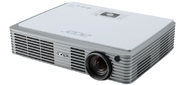 Acer projector K335,  WXGA / DLP / DLP 3D / 1000 Lm / 10000:1 / 30000 Hrs / SD (Micro,  SDHC) Reader / USB-A / USB mini-B / HDMI-MHL / Wi-Fi via Adapter (option) / 1.3 kg / Carry case