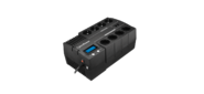 Cyberpower BR1000ELCD Back-UPS BRICs,  Line-Interactive,  1000VA  /  600W,  Tower,  Schuko,  LCD,  USB