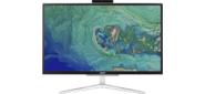 """ACER Aspire C22-865  All-In-One 21.5"""" FHD (1920x1080),   i5 8250U,  8GbDDR4,  256GB SSD,  Intel HD,  noDVD-RW,  WiFi+BT, USB KB&Mouse,  silver,  Win10Pro 1Y carry-in"""