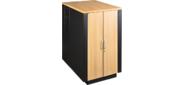 Шкаф LANMASTER SOUNDPROOF звукоизолированный 24U 750x1130 мм,  отделка под дерево,  цвет лиственница