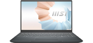 "MSI Modern 14 B11MO-063RU Intel Core i5-1135G7 (2.4Ghz) / 8192Mb / 512гб SSDGb / Intel Iris Xe Graphics / 14.0"" (1920x1080  (матовый) IPS) / Cam / BT / WiFi / war 1y / 1.2kg / Carbon Grey / Win10Home64"