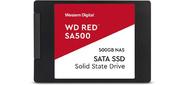 "SSD жесткий диск SATA2.5"" 500GB RED WDS500G1R0A WDC"
