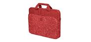 Сумка для ноутбука 15.6 Continent CC-032 Redprints 15.6. Красный. Нейлон,  полиэстер.