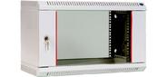 CMO ШРН-Э-6.650 Шкаф телекоммуникационный настенный разборный 6Un  (600x650) дверь стекло