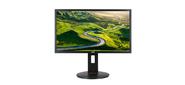 "Монитор жидкокристаллический Acer Монитор LCD 23, 8"" 16:9 2560х1440 IPS,  nonGLARE,  350cd / m2,  H178° / V178°,  100M:1,  1ms,  VGA,  DVI,  HDMI x2,  DP,  USB-Hub,  Pivot,  Tilt,  HAS,  Speakers,  Audio out,  3Y,  Black"
