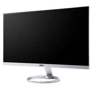 "Acer 27"" H277HKSMIPUZ серебристый / черный IPS LED 4ms 16:9 DVI HDMI M / M матовая 100000000:1 350cd 3840x2160 DisplayPort Ultra HD"