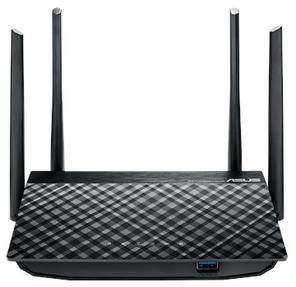 ASUS WiFi Router RT-AC58U WLAN 733Mbps,  Dual-band 2.4GHz+5.1GHz,  802.11ac+4xGBL RG45+1xWAN+1xUSB3.0 4x ext Antenna