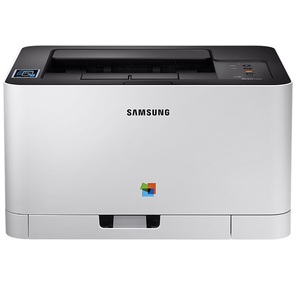 Samsung SL-C430W A4,  18 / 4стр. / мин,  2400x600dpi,  6Мб,  USB,  Ethernet 10 / 100BaseTX,  802.11b / g / n,  NFC