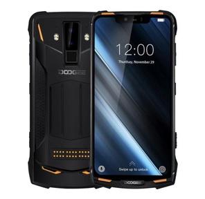"Смартфон Doogee S90 Fire Orange,  6, 18"" 1080x2160,  2.0GHz,  8 Core,  6GB RAM,  128GB,  up to 256GB flash,  16Mpix+8Mpix / 8Mpix,  2 Sim,  2G,  3G,  LTE,  BT,  Wi-Fi,  NFC,  GPS,  Type-C,  5050mAh,  Android 8.1,  168, 5 ммx80, 8 ммx14, 1 мм,  военный стандарт защиты MIL-STD-810G"