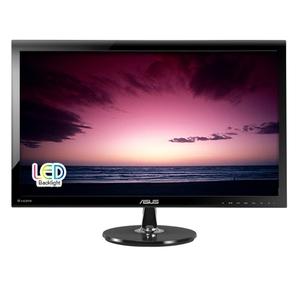 """ASUS VS278Q 27"""" Wide LED monitor,  Full HD 1920x1080,  2ms,  300 cd / m2,  10M :1,  170° (H),  160° (V),  DVI,  HDCP,  2 x HDMI,  Display port,  speakers 3W x 2 Stereo,  ultra slim,  black,  TCO'03"""