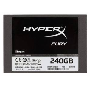 "Kingston SSDNow HyperX FURY,  2.5"",  SSD 240GB,  SATA III,  [R / W - 500 / 500 MB / s]"