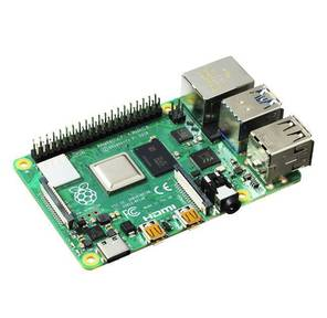 Raspberry Pi 4 Model B Микрокомпьютер,  CPU Broadcom BCM271,  4Gb,  microHDMI,  Wi-Fi,  BT 5.0,  2x USB 2.0,  2x USB 3.0  (44589  /  RA545)
