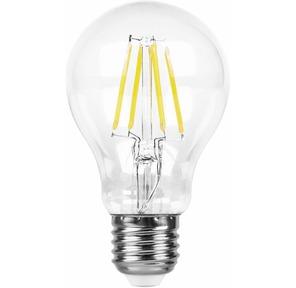 Feron LB-63 Лампа  филаментная светодиодная,  9W,  230V,  E27,  6400K
