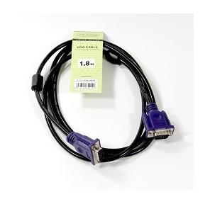 Кабель соединительный SVGA  (15M / M) 1, 8m 2 фильтра TV-COM <QCG120H-1.8M>