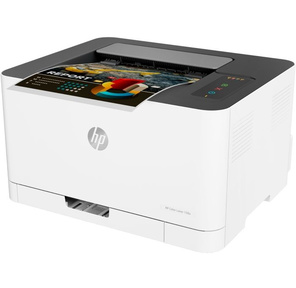 Принтер HP Color Laser 150a Printer A4,  600x600dpi,   (18 (4)ppm,  64Mb,  USB 2.0,  1tray 150,  1y warr,  cartridges 700b &500cmy pages in box,  repl.SL-C430
