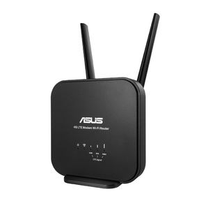 ASUS 4G-N12 B1 WiFi 4G LTE Router WLAN 300Mbps,  802.11bgn,  1xSIM Card,  1xLAN 10 / 100 RG-45,  2x ext. Antenna