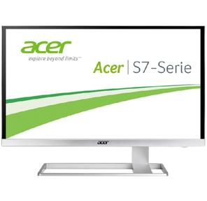 "ACER 27"" S277HKwmidpp IPS LED,  3840x2160,  4ms,  100M:1,  300 cd / m2,   178° / 178°,  DVI,  HDMI,  DisplayPort,  Silver"