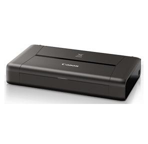 Canon Pixma IP110  (9596B029) A4 WiFi USB черный  (в комплекте: батерея)