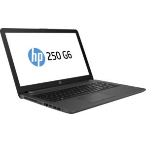 """HP 250 G6 Celeron N3350,  4GB,  128гб SSD,  15.6"""" HD SVA AG,  DVD-Writer,  Jet kbd TP,  Intel 3168 AC 1x1,  +BT 4.2,  Dark Ash Silver,  1yw,  FreeDOS"""