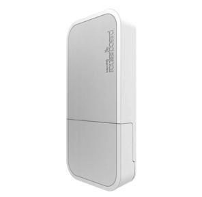 MikroTik wAP 60Gx3 AP with Phase array 180 degree 60GHz antenna,  802.11ad wireless,  716MHz CPU,  256MB RAM,  1x Gigabit LAN,  POE,  PSU,  outdoor enclosure,  RouterOS L4  (AP)