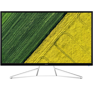 """Acer 31.5"""" ET322QKwmiipx  (16:9) VA (LED) 3840x2160 4ms 300nits 3000:1 2xHDMI  (2.0) + DP (1.2) + Audio Out 2Wx2 DP HDMI FreeSync White with silver footstand 60Hz VESA No"""