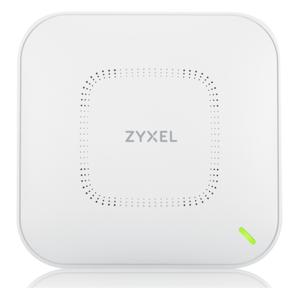 Гибридная точка доступа Zyxel NebulaFlex Pro WAX650S,  W-Fi 6,  802.11a / b / g / n / ac / ax  (2, 4 и 5 ГГц),  MU-MIMO,  Smart Antenna,  внутренние антенны 4x4,  до 1200+2400 Мбит / с,  1xLAN 5GE,  1xLAN GE,  PoE,  защита о