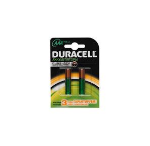 Аккумулятор Duracell HR03-2BL 750mAh AAA 2шт