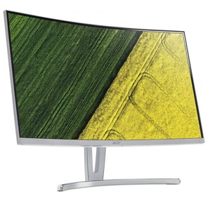 "ACER ED273Awidpx 27"" LED VA,  1920x1080,  4ms,  250cd / m2,  3000:1,  DVI + HDMI + DP + Audio Out,  White Curved 1800R"