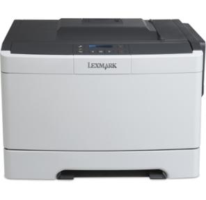 Принтер лазерный Lexmark CS317dn цветной