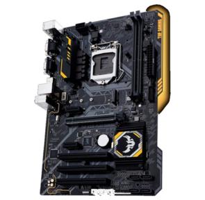 ASUS TUF H310-PLUS GAMING,  LGA1151,  H310,  2*DDR4,  D-Sub + HDMI,  SATA3 + RAID,  Audio,  Gb LAN,  USB 3.1*4,  USB 2.0*6,  COM*1,  ATX ; 90MB0WY0-M0EAY0