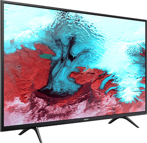 "Телевизор LED Samsung 43"" UE43J5202AUXRU 5 черный / FULL HD / 100Hz / DVB-T2 / DVB-C / DVB-S2 / USB / WiFi / Smart TV  (RUS)"