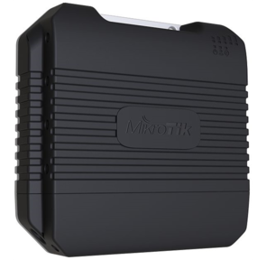MikroTik LtAP LTE kit with dual core 880MHz CPU,  128MB RAM,  1 x Gigabit LAN,  built-in High Power 2.4Ghz 802.11b / g / n Dual Chain wireless with integrated antenna,  LTE modem  (for International bands 1 / 2 /