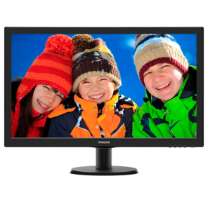 "Philips LCD 27"" 273V5LSB / 00 (01) Black LED,  LCD,  TN,  1920x1080,  5 ms,  170° / 160°,  300 cd / m,  10M:1,  +DVI"