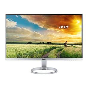 "Acer H277HUsmipuz 27"" серебристый IPS LED 4ms 16:9 DVI HDMI M / M полуматовая 350cd 178гр / 178гр 2560x1440 D-Sub DisplayPort USB 5.4кг"