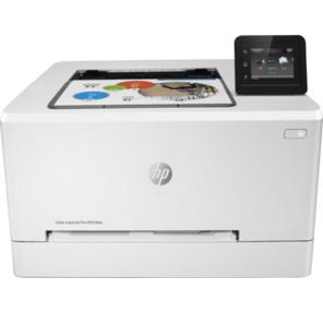 HP Color LaserJet Pro M254dw A4,  600x600dpi,  21 (21) ppm,  256Mb,  2 trays 1+250,  1y warr,  touch LCD,  duplex,  Cartridges 700 b & 800 cmy pages in box,  USB / LAN / front USB