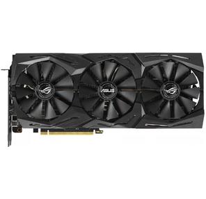 Asus PCI-E ROG-STRIX-RTX2070-8G-GAMING nVidia GeForce RTX 2070 8192Mb 256bit GDDR6 1410 / 14000 / HDMIx2 / DPx2 / USB-C / HDCP Ret