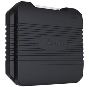MikroTik LtAP LTE kit with dual core 880MHz CPU,  128MB RAM,  1 x Gigabit LAN,  built-in High Power 2.4Ghz 802.11b / g / n Dual Chain wireless with integrated antenna,  internal LTE antenna,  GPS,  two miniPCI-
