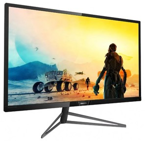 "PHILIPS 326M6VJRMB / 00 31.5"",  4K,  MVA,  Ambiglow,  3840x2160,  4 ms,  178° / 178°,  600 cd / m,  80M:1,  +3xHDMI 2.0,  +DisplayPort 1.4,  +4xUSB 3.0,  +MM,  +регулировка по высоте,  Black"