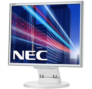 "NEC 171M,  17"",  250cd / m2,  1000:1,  5ms,  1280x1024,  170 / 170,  Height adjustable 0, 26mm; Tilt; D-Sub,  DVI-D; Internal PS; 2*1W; TCO6,  Silv / White"