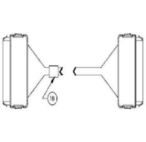 HP 391330-B21 Internal SAS / SATA Multi-Lane Cable  (19 in)