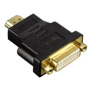 Hama H-34036 HDMI  (m) - DVI / D  (f) позолоченные штекеры черный