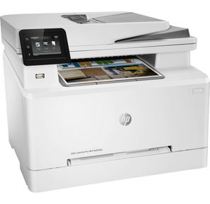 HP Color LaserJet Pro MFP M283fdn p / c / s / f,  A4,  21 (21ppm),  600dpi,  256 Mb,  ADF50,  Duplex,  USB 2.0,  Fast Ethernet10 / 100 Base-TX,  2tray 250+1 ,  1y.warr, cart. 1350&750 cmy inbox.